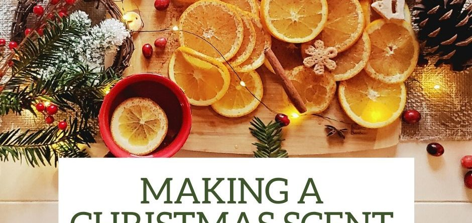 Elyrest by Baanidin Making a Christmas Scent with Citrus Ornaments , Pure Essential Oil Blend