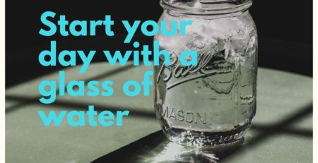 elyrest by baanidin start your day with a glass of water