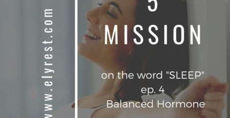 The 5 missions of the word sleep ep.4
