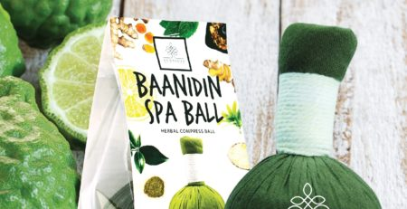 kaffir lime herbal compress ball
